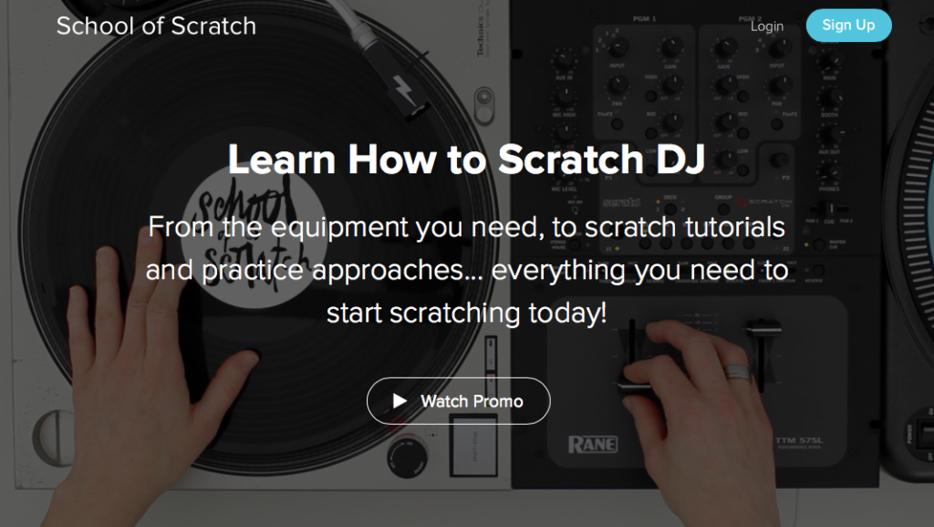 "New ""Learn How TO Scratch DJ"" Course Coming SOON!"
