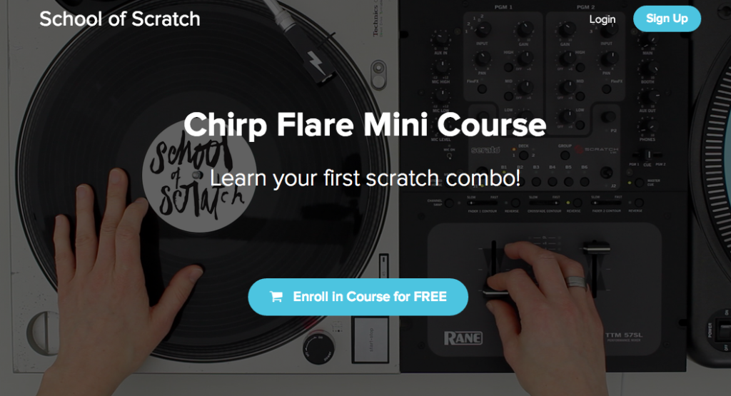 FREE Chirp Flare Mini Course – Learn Your First Scratch Combo