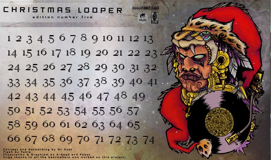 Christmas Looper 5 – Studio Scratches