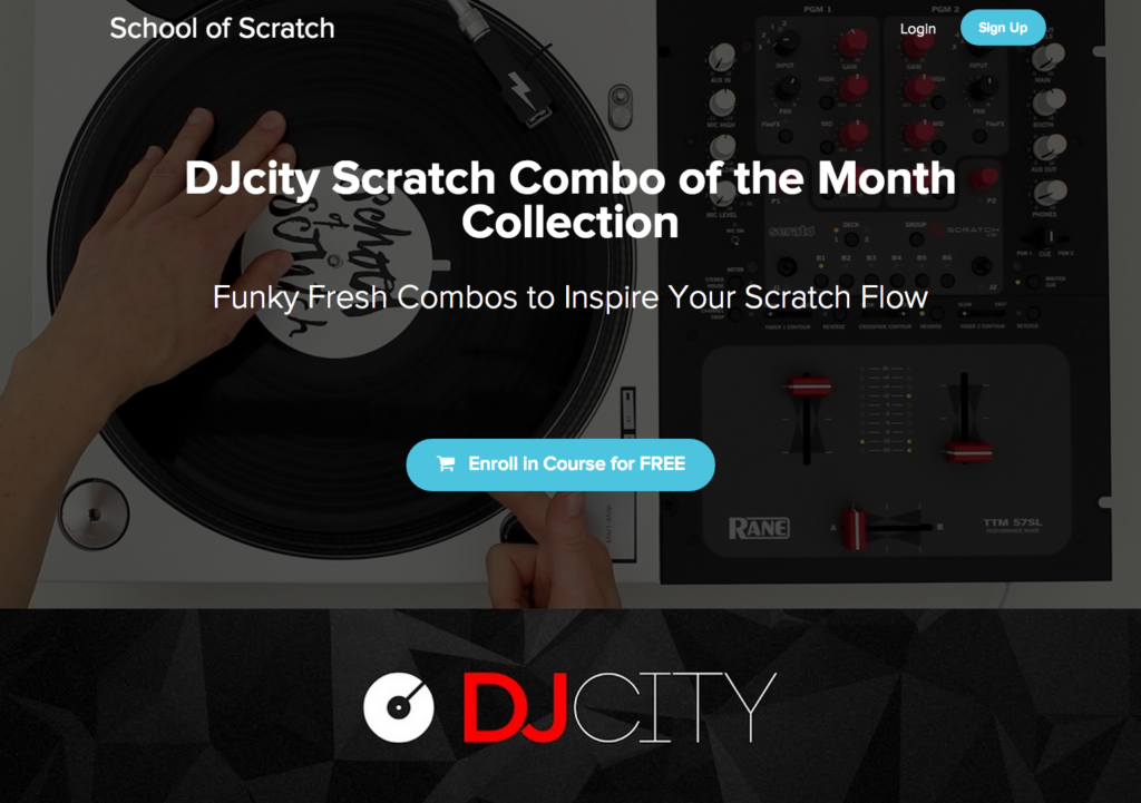 DJcity Scratch Combo of the Month: Episode 24 – July 2017